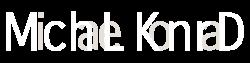 Logo mchlknrd Weiße Schrift